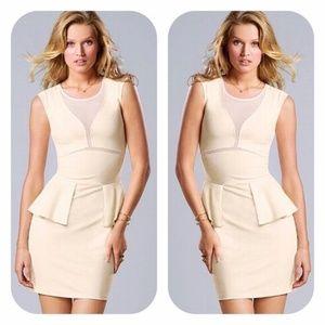 Victoria's Secret OLIVE ponte peplum dress 2